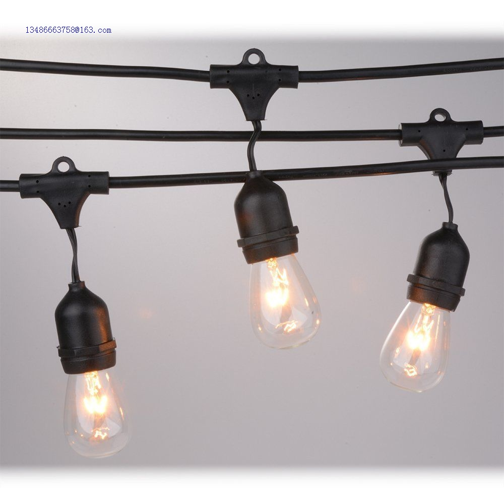 E27 Waterproof Outdoor Commercial String Light with E27 Sockets