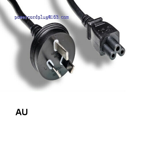 6 Ft 3 Prongs AC Power Cord Cable IEC320 C5 To AU Australia AS3112