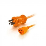 16 AWG Hospital Grade Power Extension Cord Orange