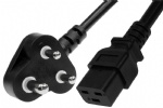 South Africa/India BS546 to C19 Power Cord